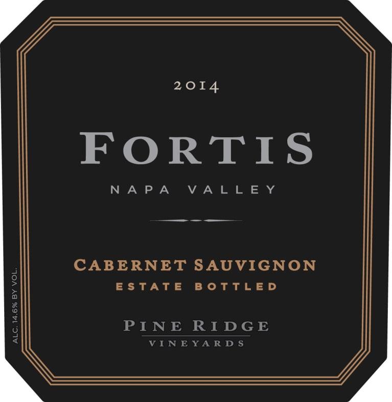 Pine Ridge Fortis Cabernet Sauvignon 2014 | Wine.com