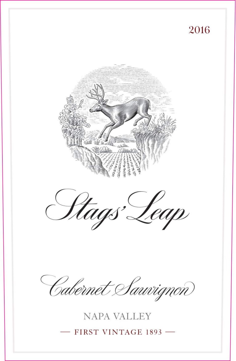 Stags' Leap Winery Napa Valley Cabernet Sauvignon 2016 Front Label