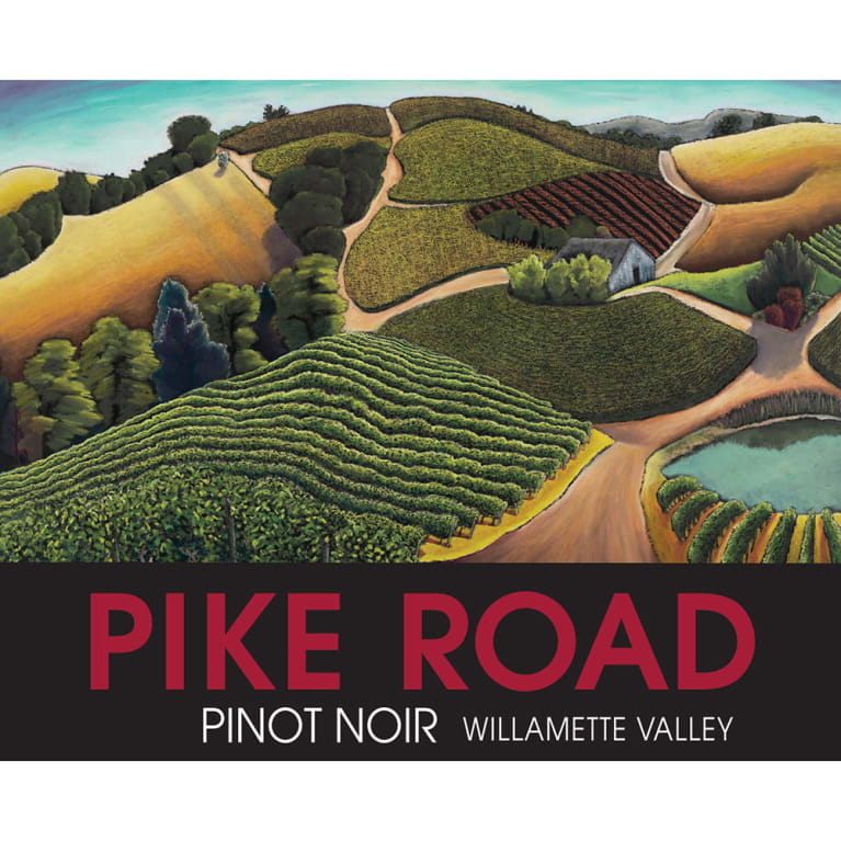 Pike Road Pinot Noir 2018  Front Label