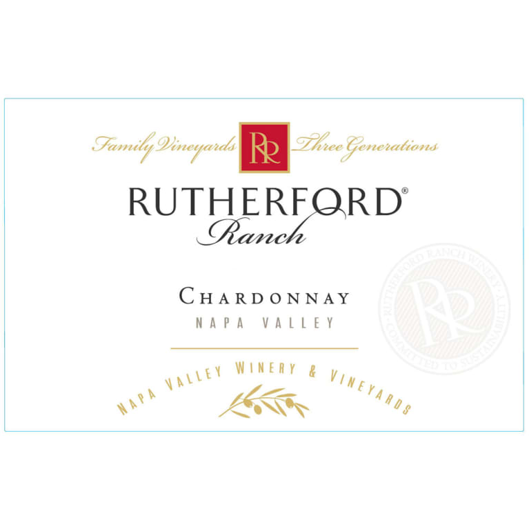 Rutherford Ranch Chardonnay 2017  Front Label