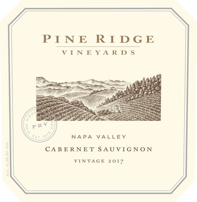 Pine Ridge Napa Cabernet Sauvignon 2017 | Wine.com