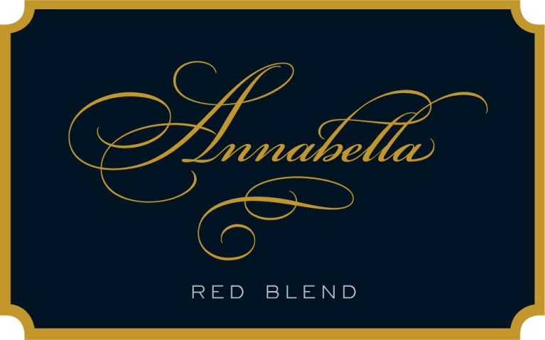 Annabella Red Blend 2017 Front Label