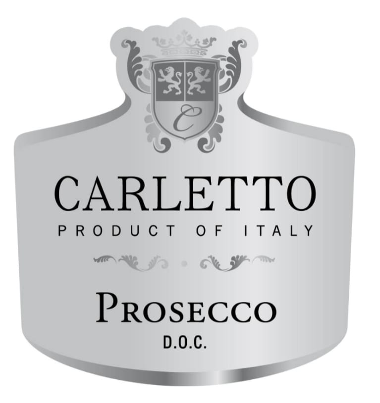 Carletto Prosecco Front Label