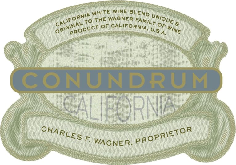 Conundrum White Blend (1 Liter) 2018  Front Label