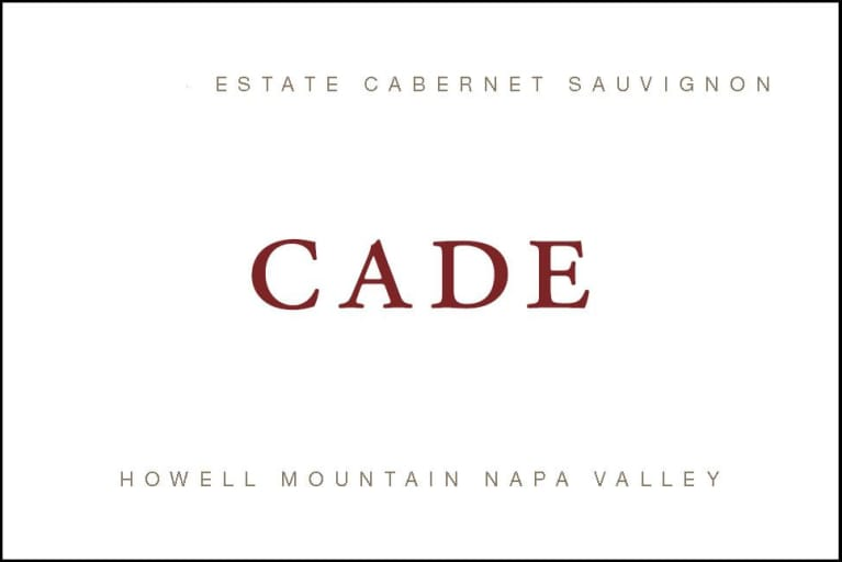 CADE Howell Mountain Estate Cabernet Sauvignon 2016 Front Label