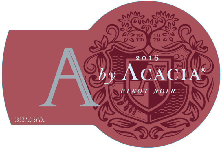 A by Acacia Pinot Noir 2016 Front Label