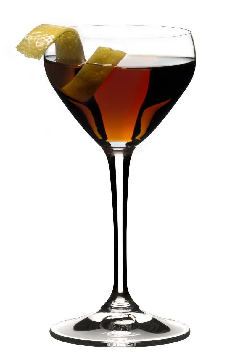 Nick and Nora Coupe Cocktailgl/äser 150 ml einfarbig Martini Algonquin oder Portwein Aperitif mundgeblasenes kleines Vintage Coupe-Glas zum Servieren von Manhattan