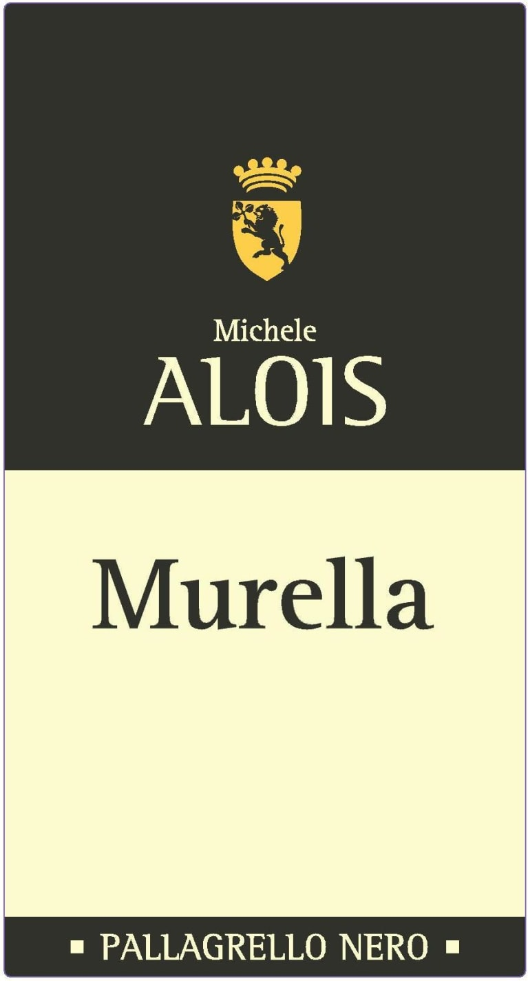 Alois Murella Pallagrello Nero 2016  Front Label