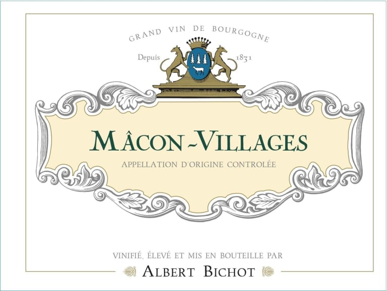 Albert Bichot Macon-Villages 2017  Front Label