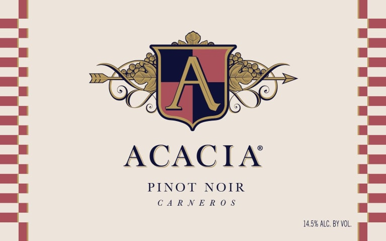 Acacia Carneros Pinot Noir 2016 Front Label