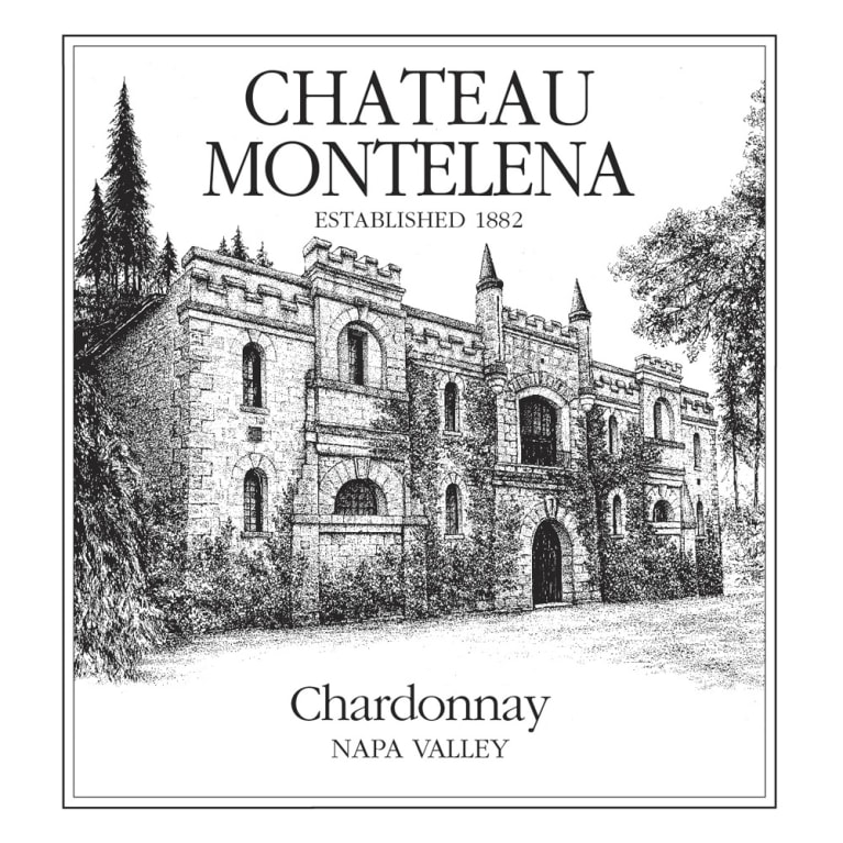 Chateau Montelena Napa Valley Chardonnay 2018  Front Label