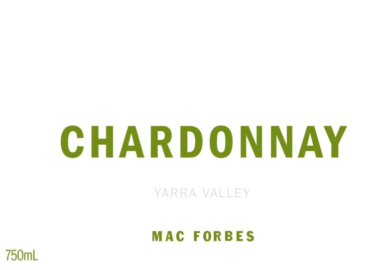 Mac Forbes Yarra Valley Chardonnay 2017 Front Label