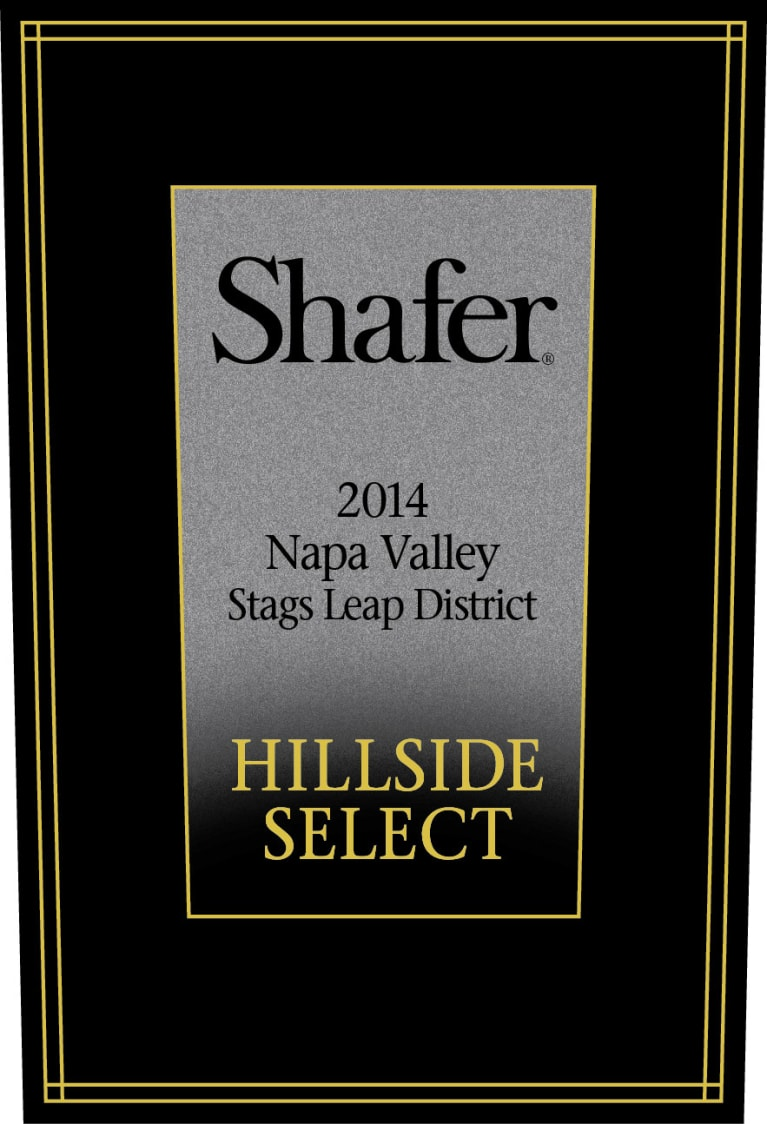 Shafer Hillside Select Cabernet Sauvignon 2014  Front Label