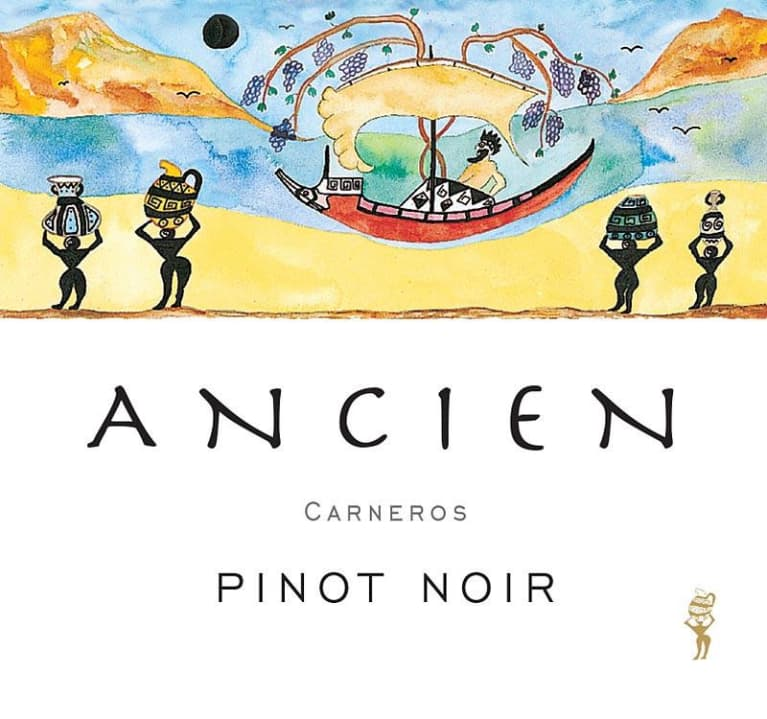 Ancien Wines Carneros Pinot Noir 2015 Front Label