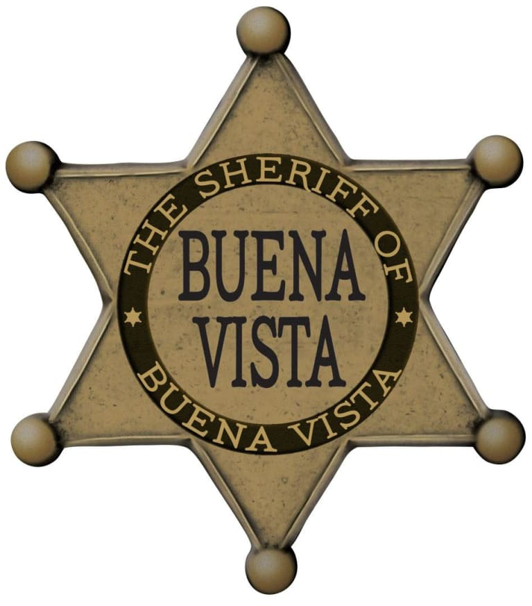 Buena Vista The Sheriff Red Blend 2017 Front Label