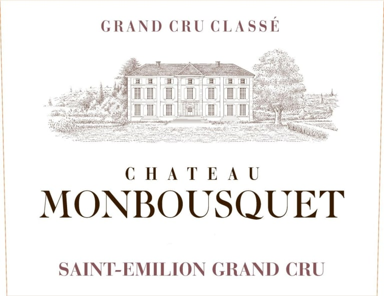 Chateau Monbousquet (1.5 Liter Futures Pre-Sale) 2018  Front Label