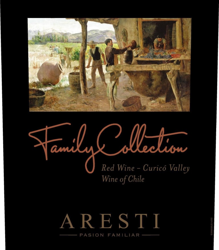 Aresti Family Collection 2014 Front Label