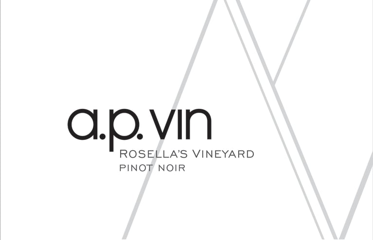 A.P. Vin Rosella's Vineyard Pinot Noir 2017 Front Label