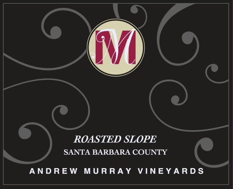 Andrew Murray Roasted Slope Syrah 2016 Front Label