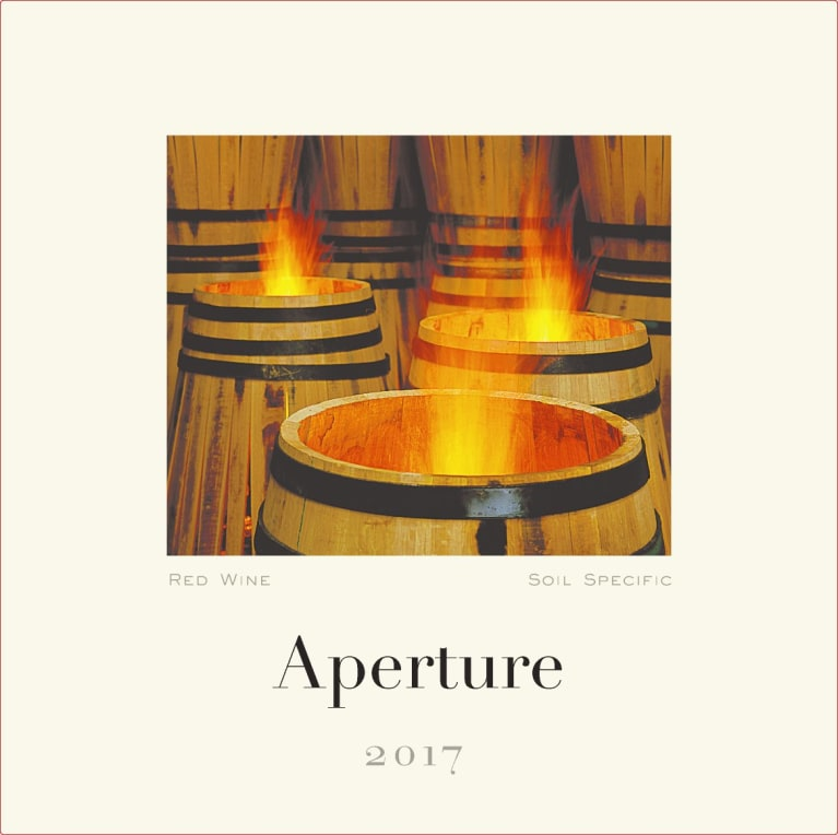 Aperture Alexander Valley Red Blend 2017  Front Label