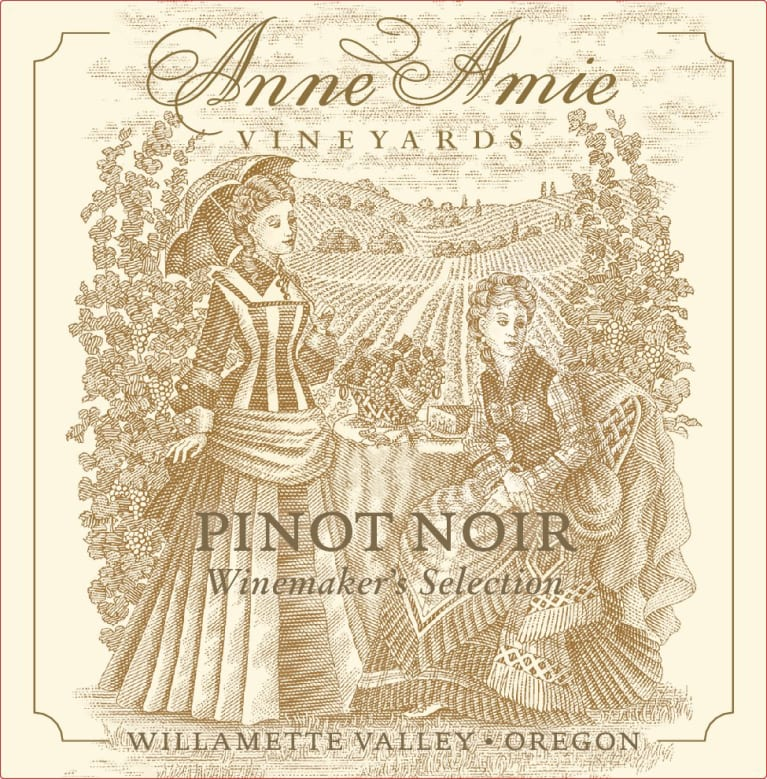 Anne Amie Winemaker's Selection Pinot Noir 2019  Front Label