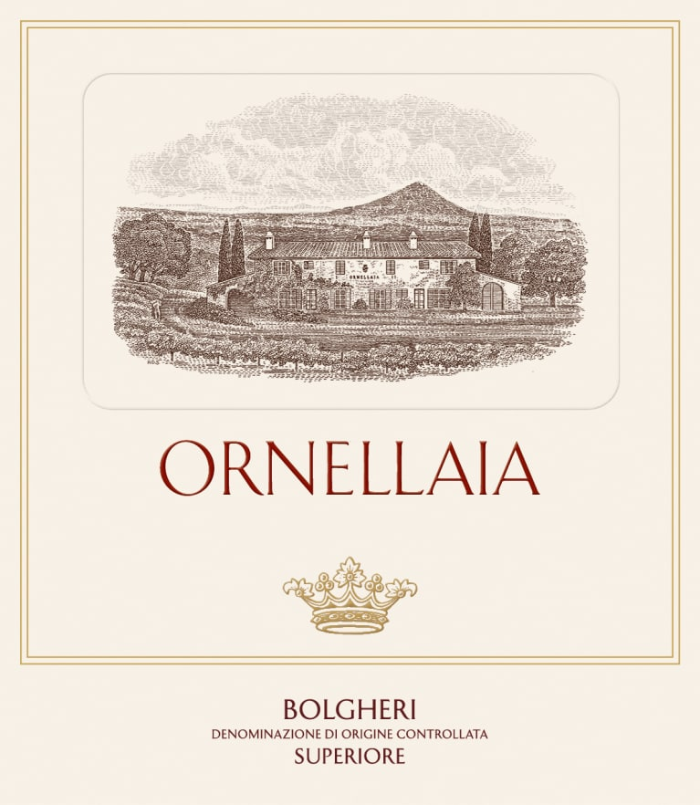 Ornellaia (375ML half-bottle) 2017  Front Label