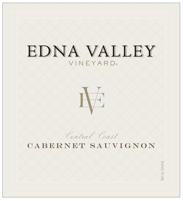Edna Valley Vineyard Cabernet Sauvignon 2017 Front Label