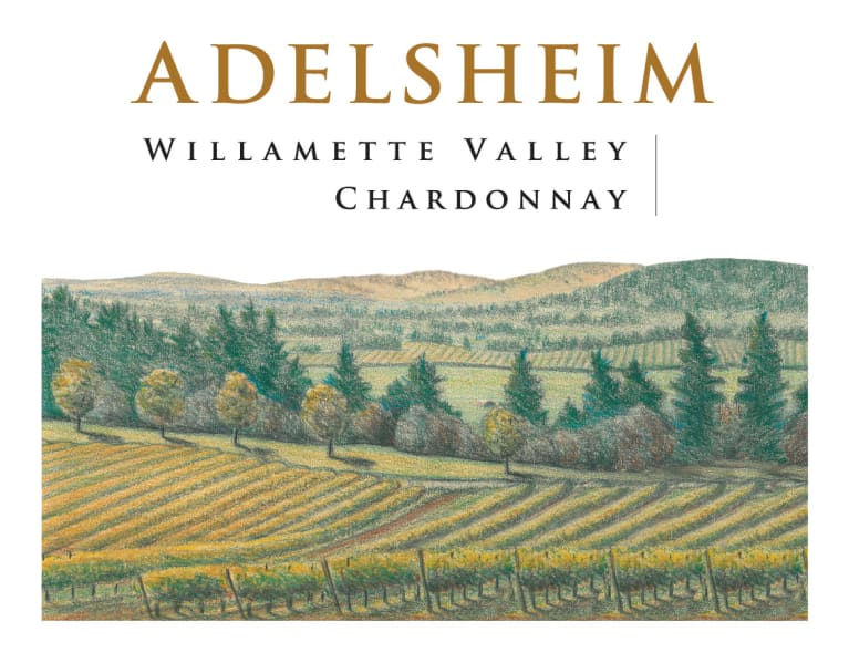 Adelsheim Willamette Valley Chardonnay 2017  Front Label