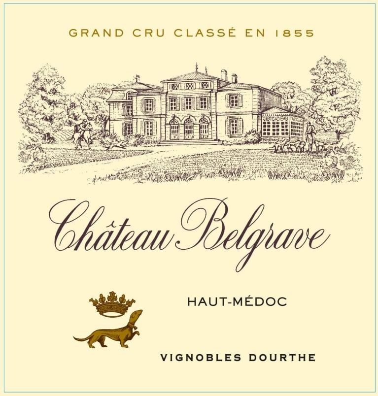 Chateau Belgrave (Futures Pre-Sale) 2018  Front Label
