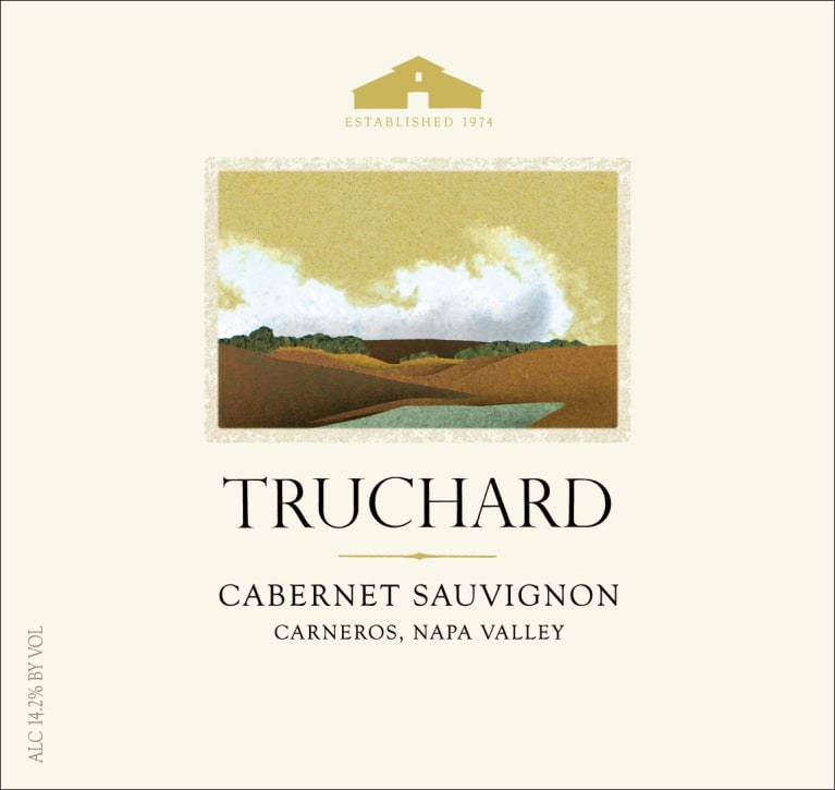 Truchard Estate Cabernet Sauvignon 2015 Front Label