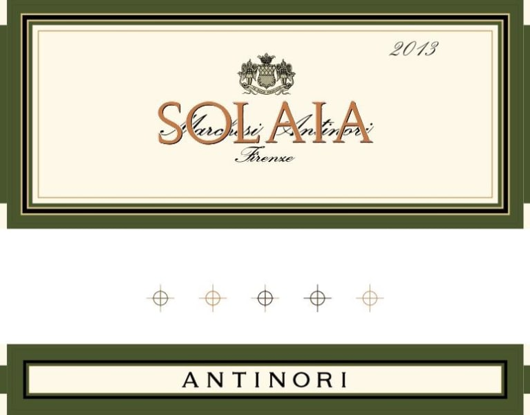 Antinori Solaia (3 Liter Bottle) 2013 Front Label