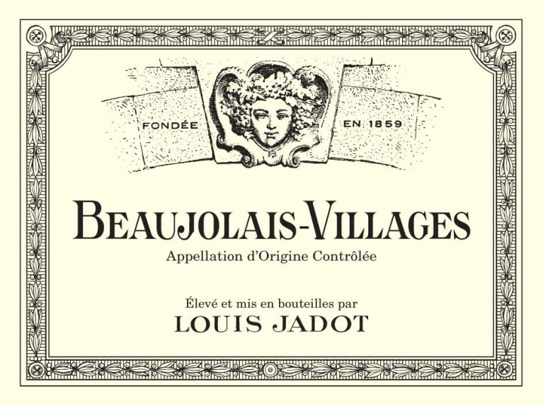 Louis Jadot Beaujolais Villages 2019  Front Label