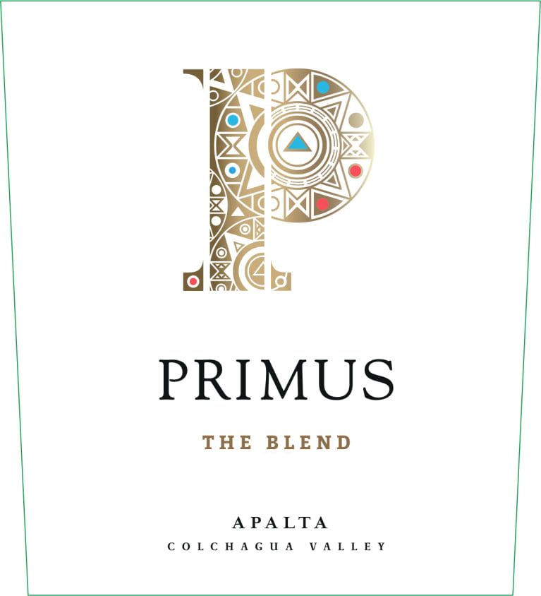 Primus The Blend 2015  Front Label