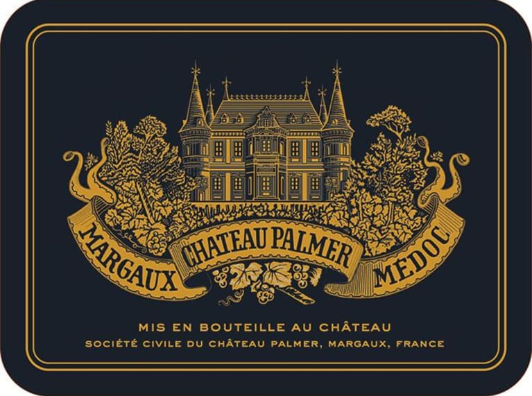 Chateau Palmer  1989  Front Label