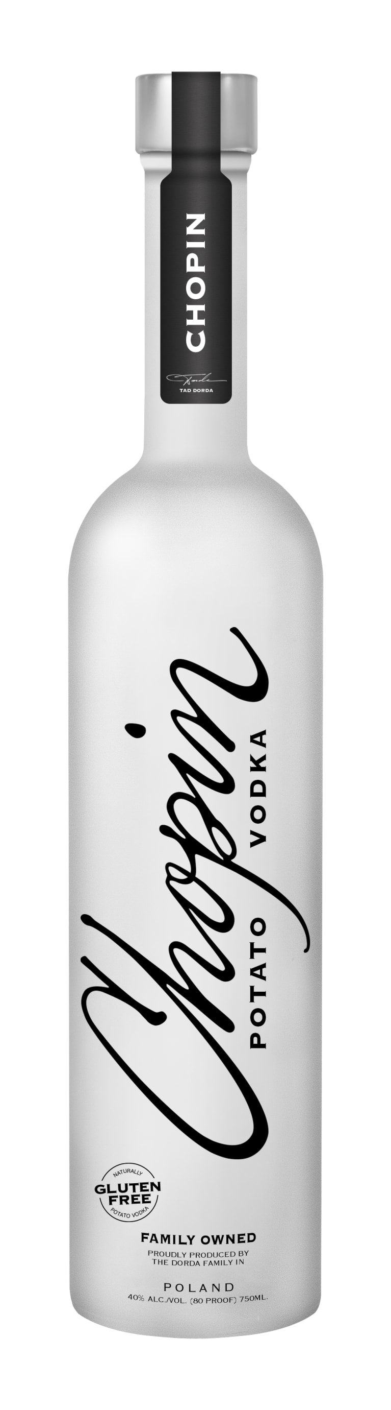 Chopin Potato Vodka Front Bottle Shot