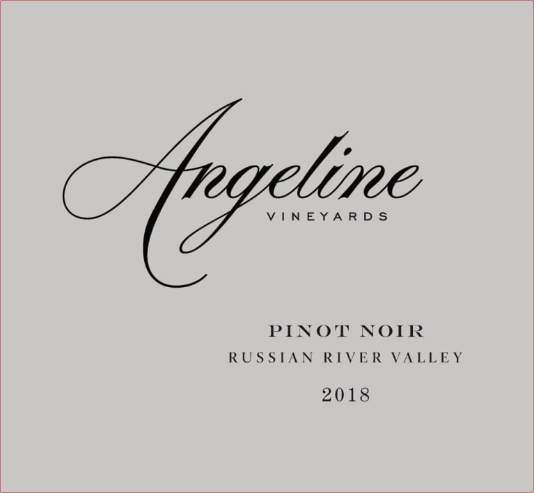 Angeline Russian River Pinot Noir 2018  Front Label