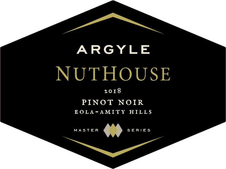 Argyle Nuthouse Pinot Noir 2018  Front Label