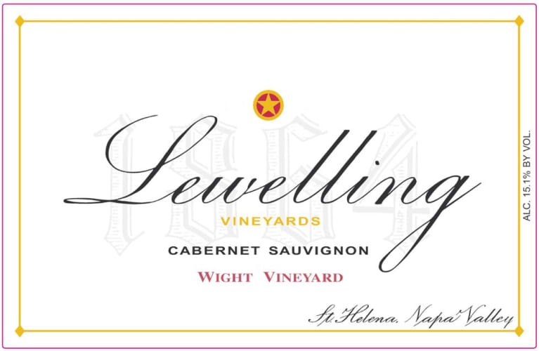 Lewelling Wight Vineyard Cabernet Sauvignon 2015 Front Label