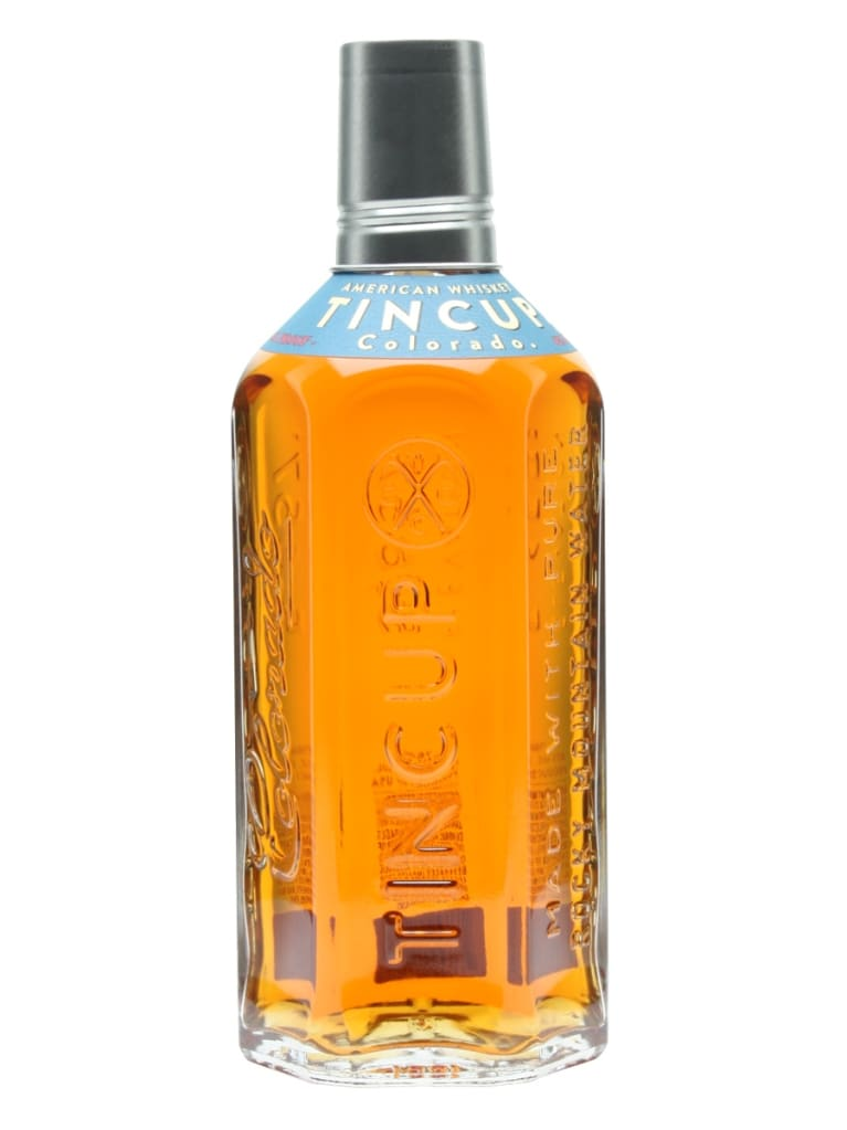 Tincup Colorado Straight Bourbon Whiskey Front Bottle Shot