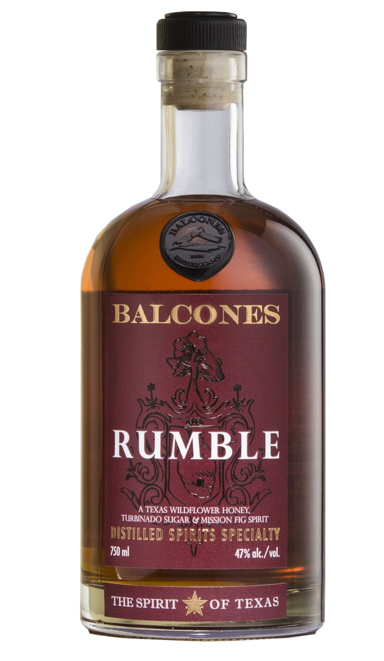 Balcones Rumble Liqueur  Front Bottle Shot