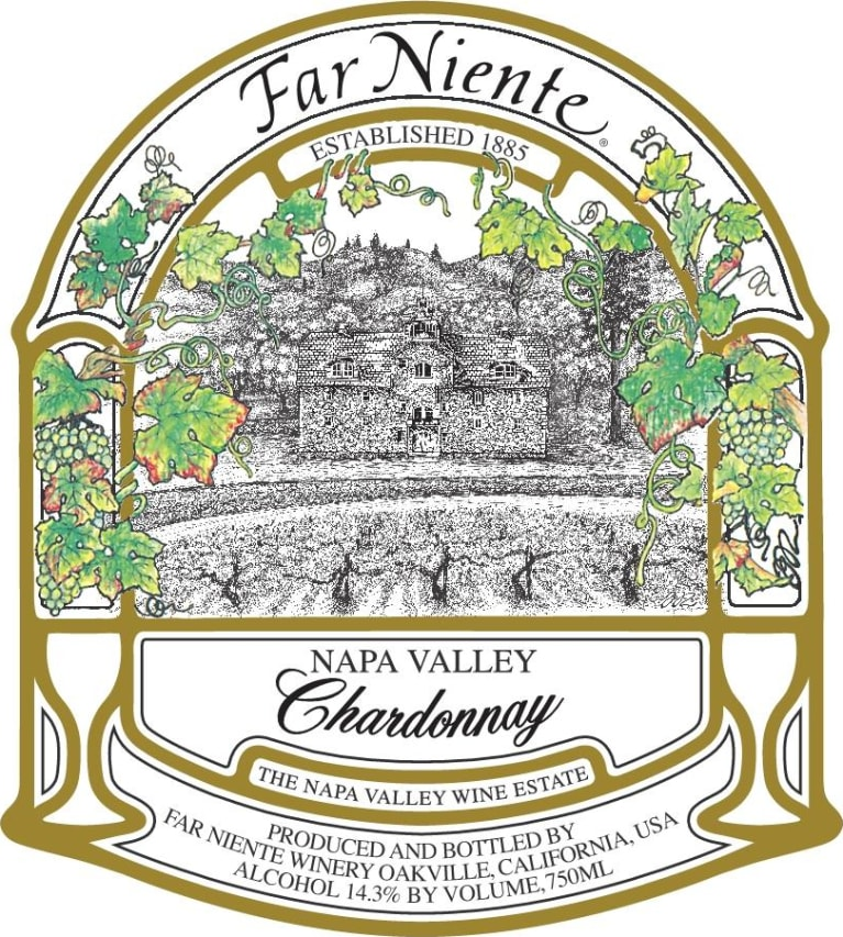 Far Niente Chardonnay 2018  Front Label