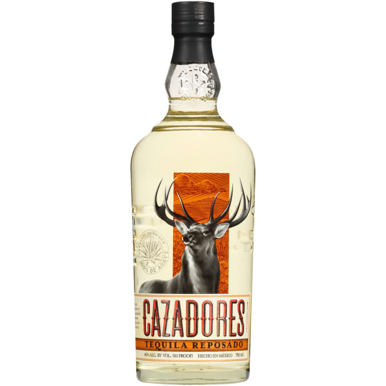 Cazadores Reposado Tequila  Front Bottle Shot