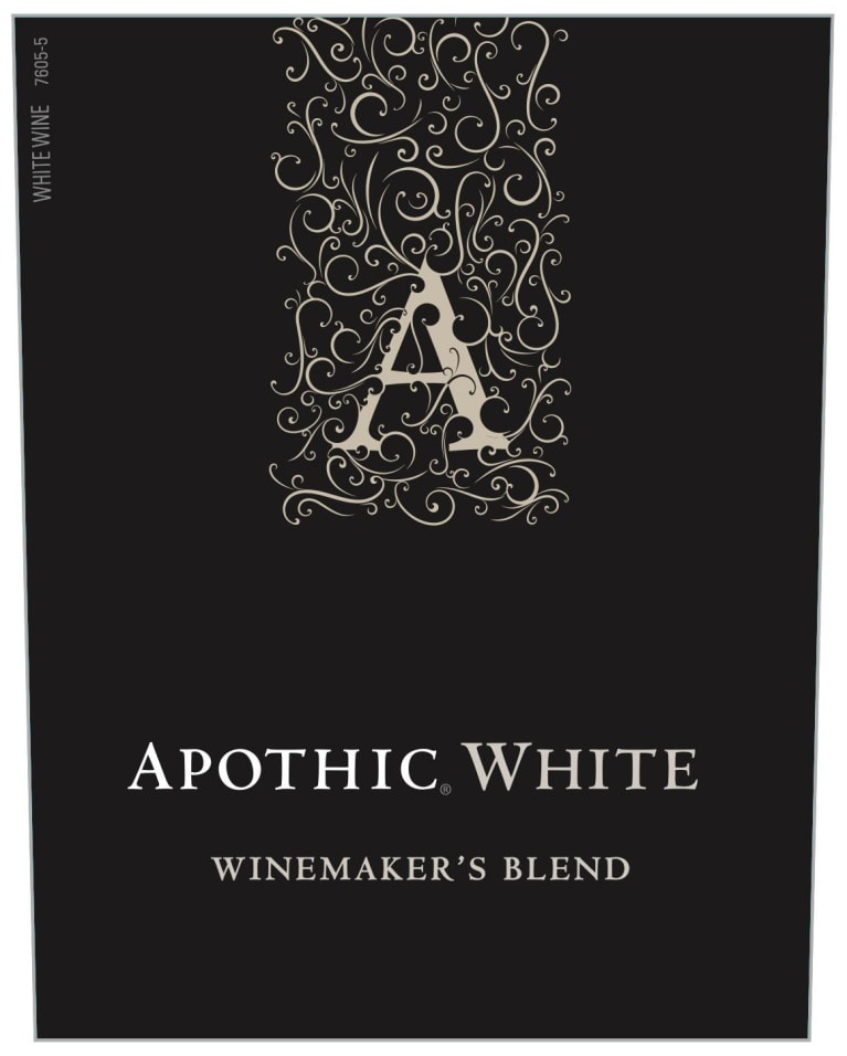 Apothic White Blend 2017 Front Label
