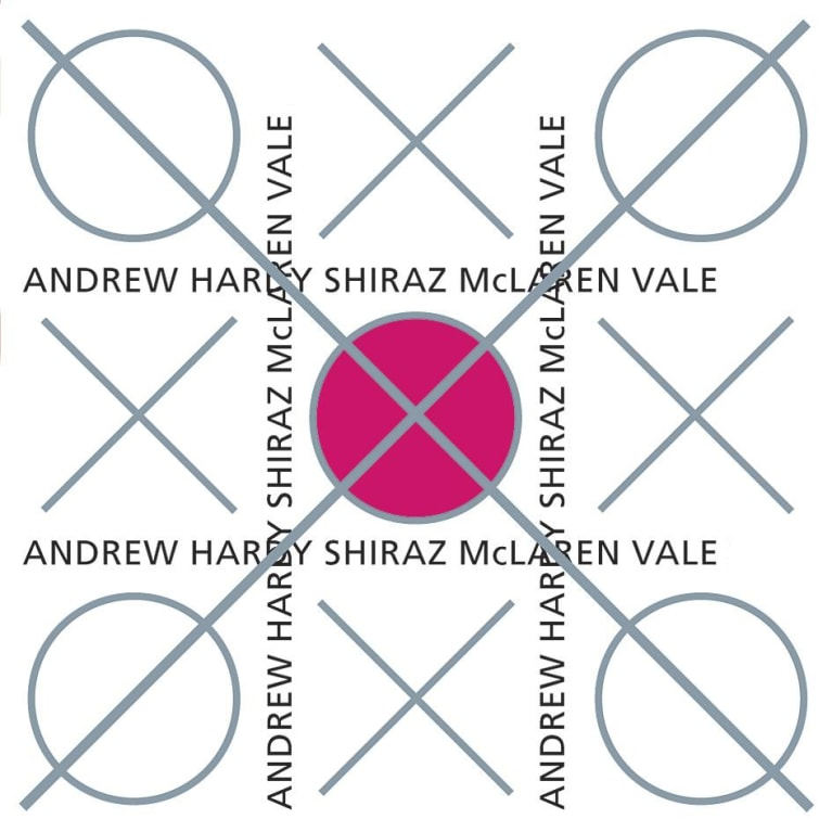 Andrew Hardy The Ox Shiraz 2002  Front Label