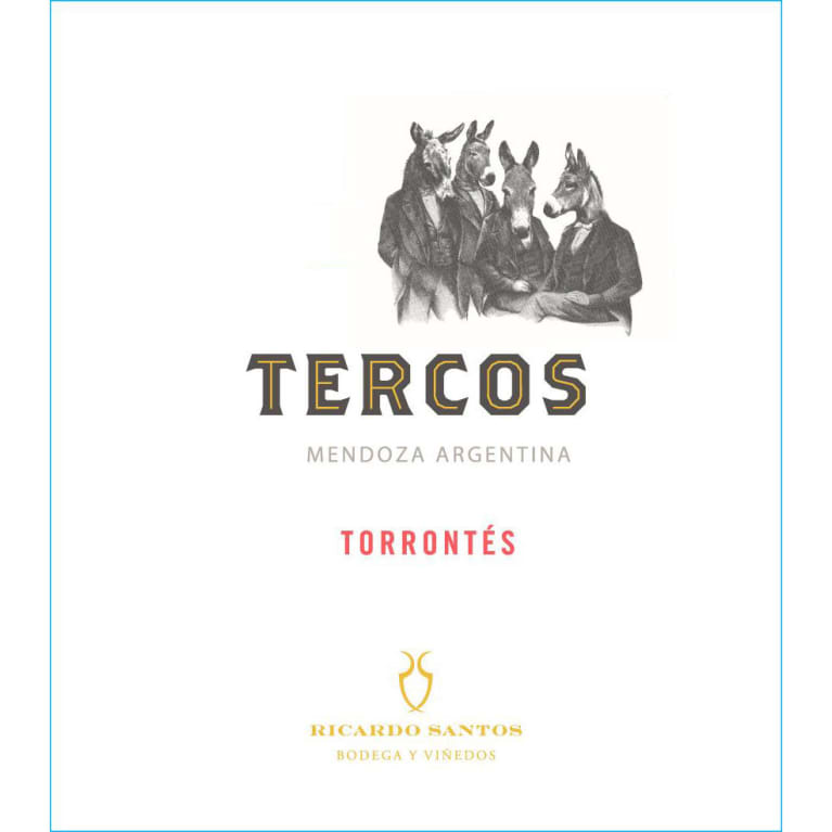 Tercos Torrontes 2018  Front Label