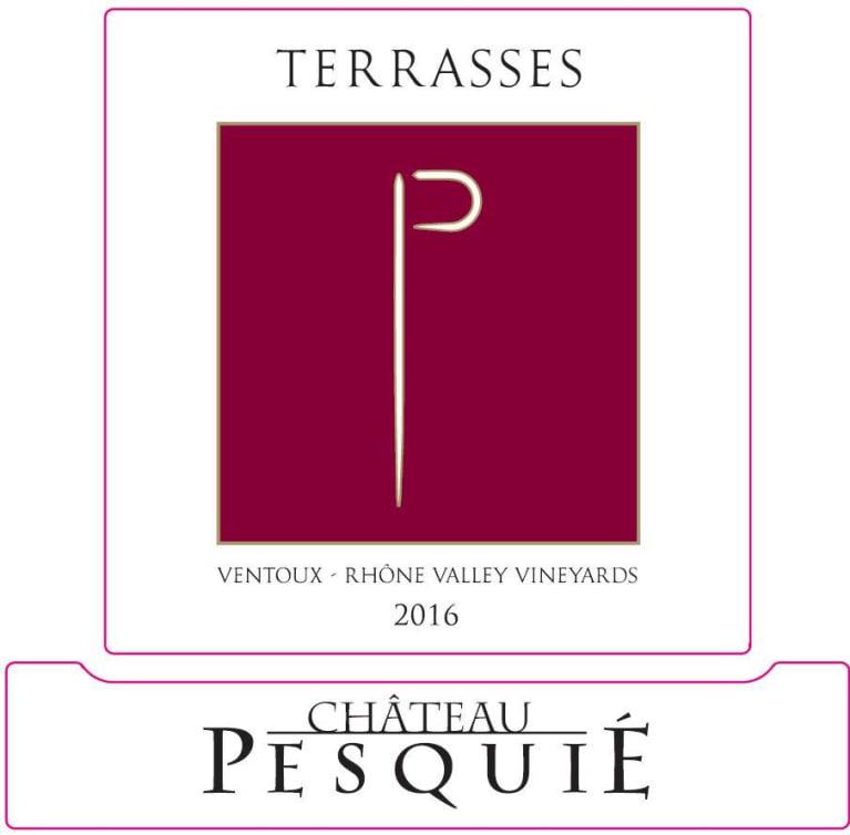 Chateau Pesquie Terrasses Rouge 2016