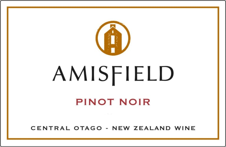 Amisfield Pinot Noir 2017  Front Label