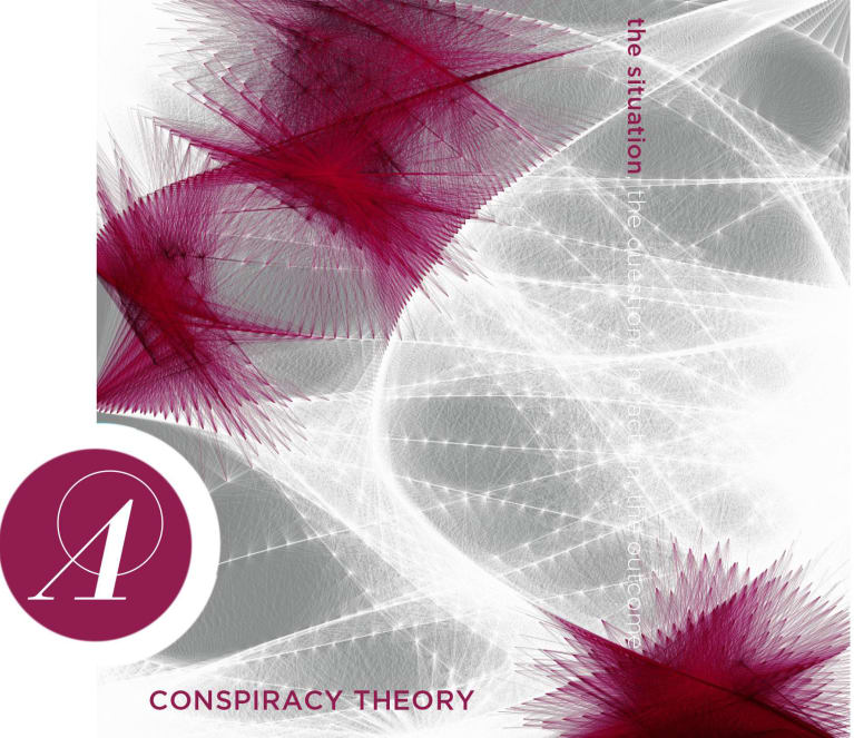 Anarchist Wine Co. Conspiracy Theory 2016  Front Label