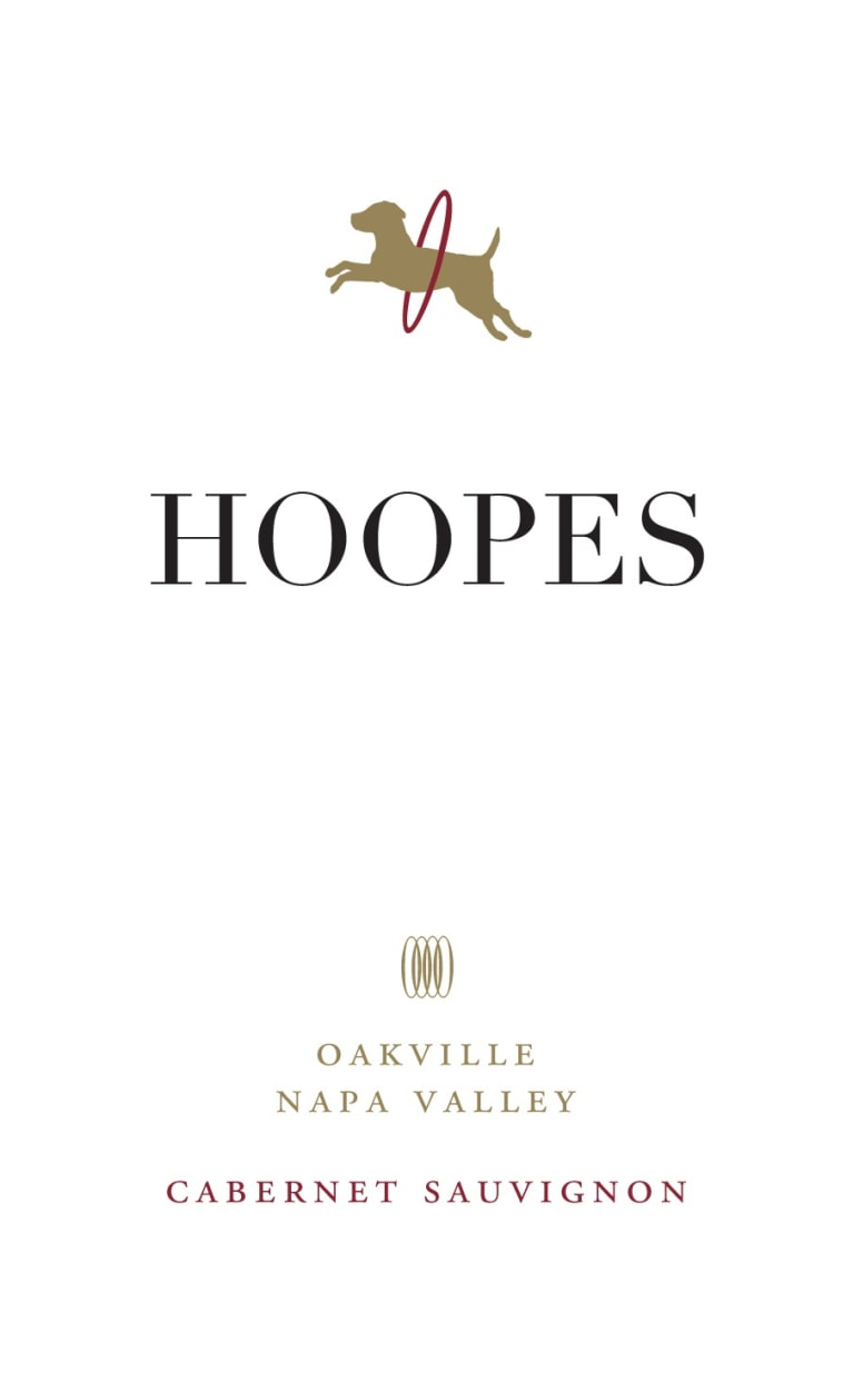 Hoopes Vineyard Oakville Cabernet Sauvignon 2014  Front Label