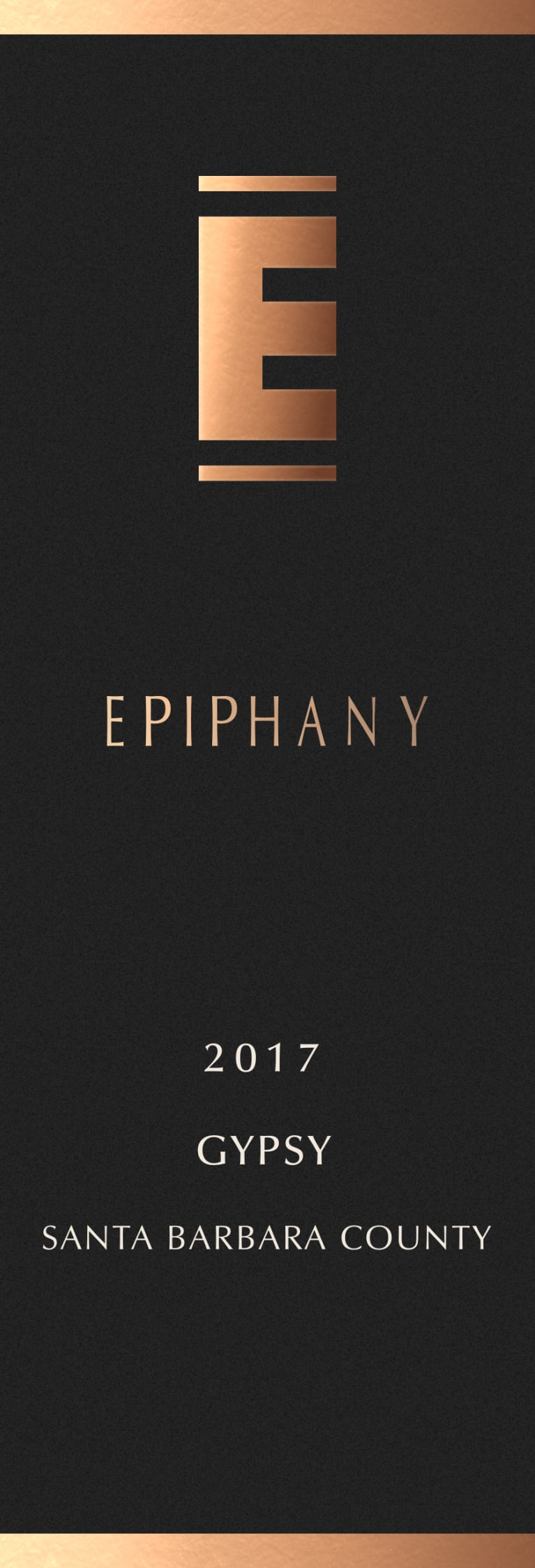 Epiphany Gypsy 2017  Front Label